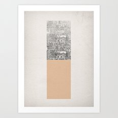 Oblong Art Print