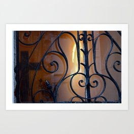 Recoleta Cemetary 3 Art Print