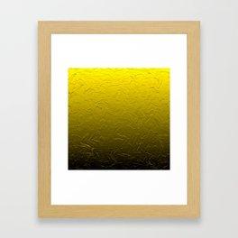 Gold Passion Framed Art Print