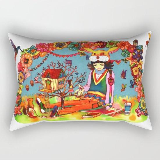 Hideaway Love Rectangular Pillow