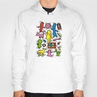 simpsons Hoodies featuring Haring - Simpsons by Krikoui