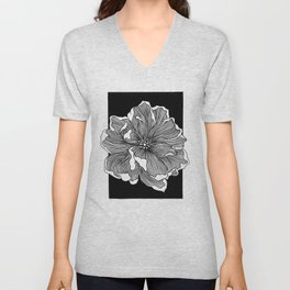 SPRING IS HERE Unisex V-Neck