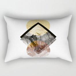 Geometric Composition 5 Rectangular Pillow