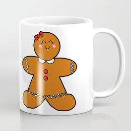 Gingerbread girl Coffee Mug