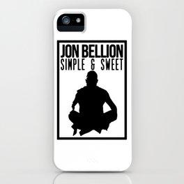 JON BELLION iPhone Case