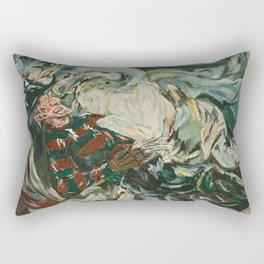 Nightmare in the Tempest: Freddy Krueger Rectangular Pillow