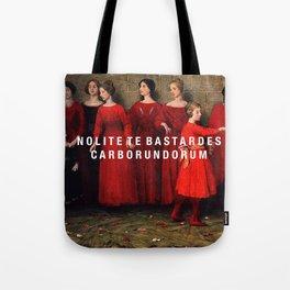 the bastards Tote Bag