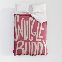 Snuggle Buddy x Pink Comforters