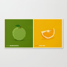 You Are ... Sweet Illustration Collection Canvas Print