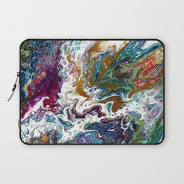 Color Oasis digitally enhanced from White Oasis Laptop Sleeve