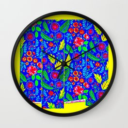 Walled paper Wall Clock