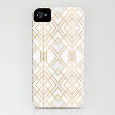 Golden Geo iPhone (4, 4s) Slim Case