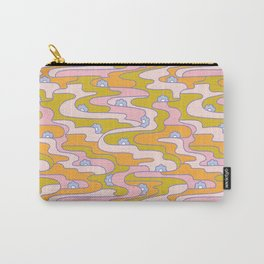 Psych Flower Carry-All Pouch