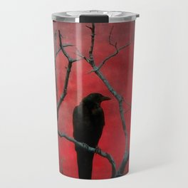 The Color Red Travel Mug