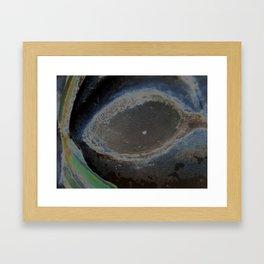 Bette Davis Eye Framed Art Print