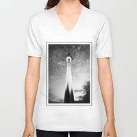 berlin V-neck T-shirts featuring berlin. by zenitt