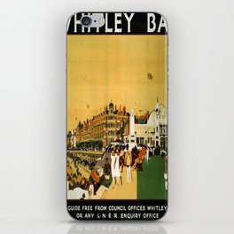 Affiche Whitley Bay poster iPhone Skin