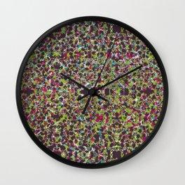 Raisin Explosion Wall Clock