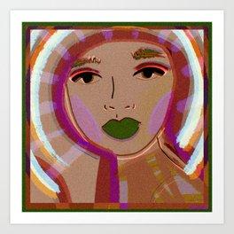 foto booth Art Print