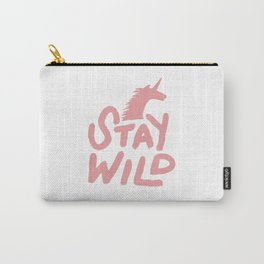 Stay Wild Unicorn Carry-All Pouch