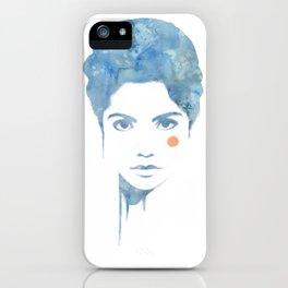 Blue & Orange iPhone Case