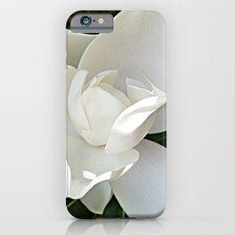 Magnolia 3 iPhone Case