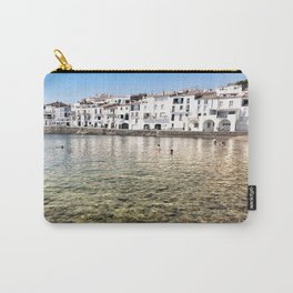 The Little White Town Carry-All Pouch