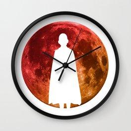 Anime Hero Moon Inspired Shirt Wall Clock