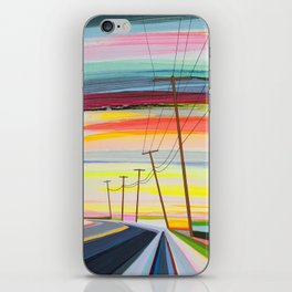 Long Beach Dusk iPhone Skin