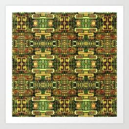 Circuit board v8 Art Print