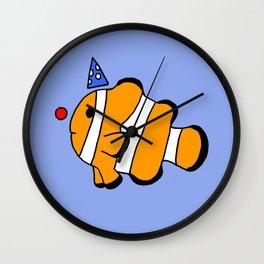 Clownfish Wall Clock