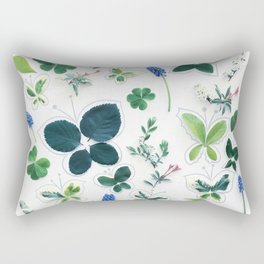 Nature Butterfly Pattern 1 Rectangular Pillow