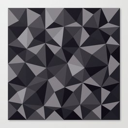 Geometric pyramids V7 Canvas Print