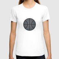 basketball T-shirts featuring BASKETBALL- basketball by Raisya