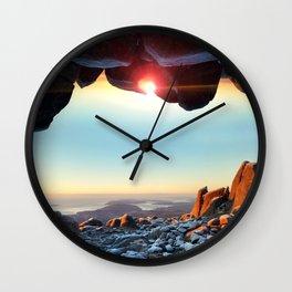 Window to the Sky Wall Clock
