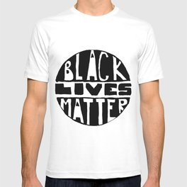 Black Lives Matter Filled T-shirt