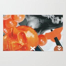 Consumable Goods (Orange) Rug