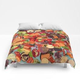 Grilled Vegetables Comforters
