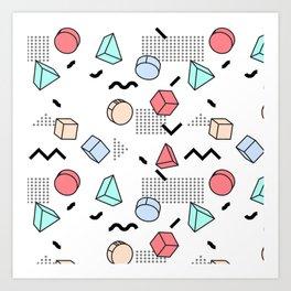 Explosion Menphis Art Print