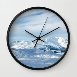 Mountain rescue station Wall Clock