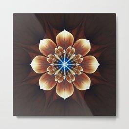 Fractality - Deku Flower Metal Print