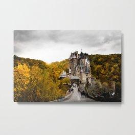 Castle in the Woods 2 Metal Print