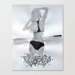 Model01 Canvas Print