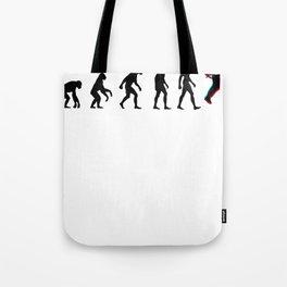 Jetpack Evolution 3D Tote Bag