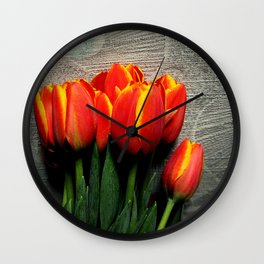 Dutch Treat Wall Clock