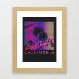 Los Angeles California Framed Art Print