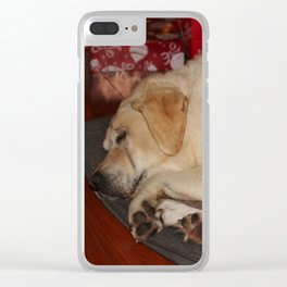 A Christmas Nap Clear iPhone Case