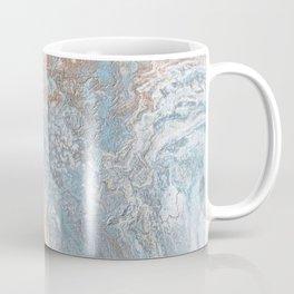 Rose Gold & Baby Blue Coffee Mug