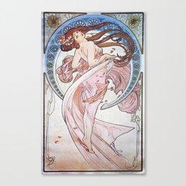 Alphonse Mucha - La Danse / Dance (1898) Canvas Print