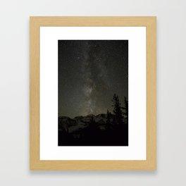 Central Oregon Skies Framed Art Print